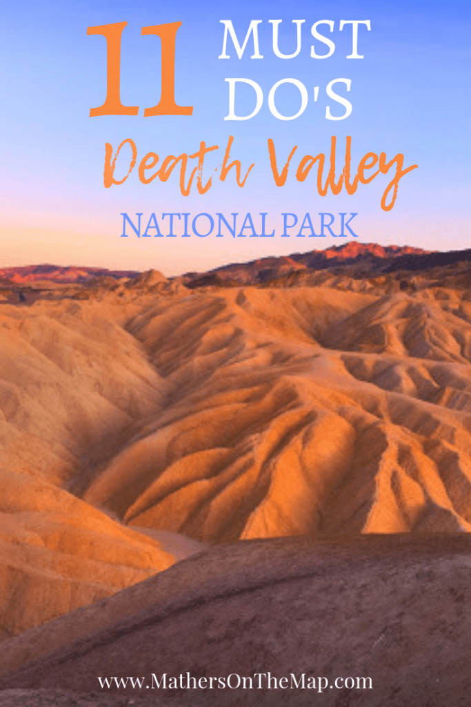 11 Best Places to see in Death Valley National Park