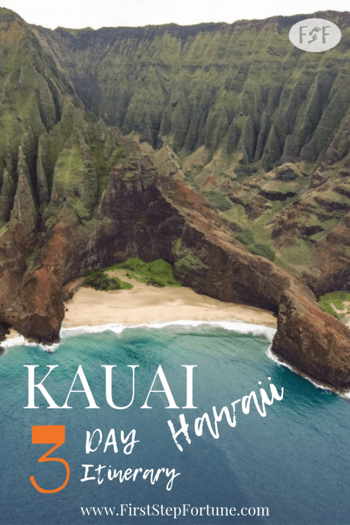 Kauai Hawaii 3 Day Itinerary - What to do and Where to Eat