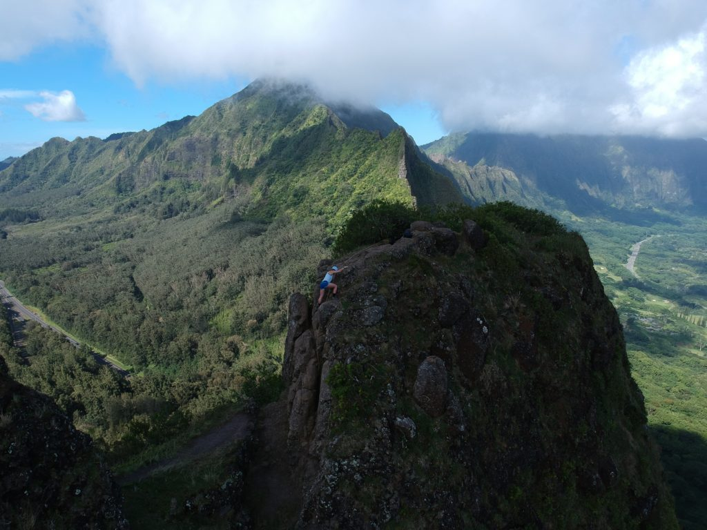 Pali Notches one of the best hikes on Oahu Hawaii - The Ultimate Guide of Oahu Hawaii, Best Hikes on Oahu