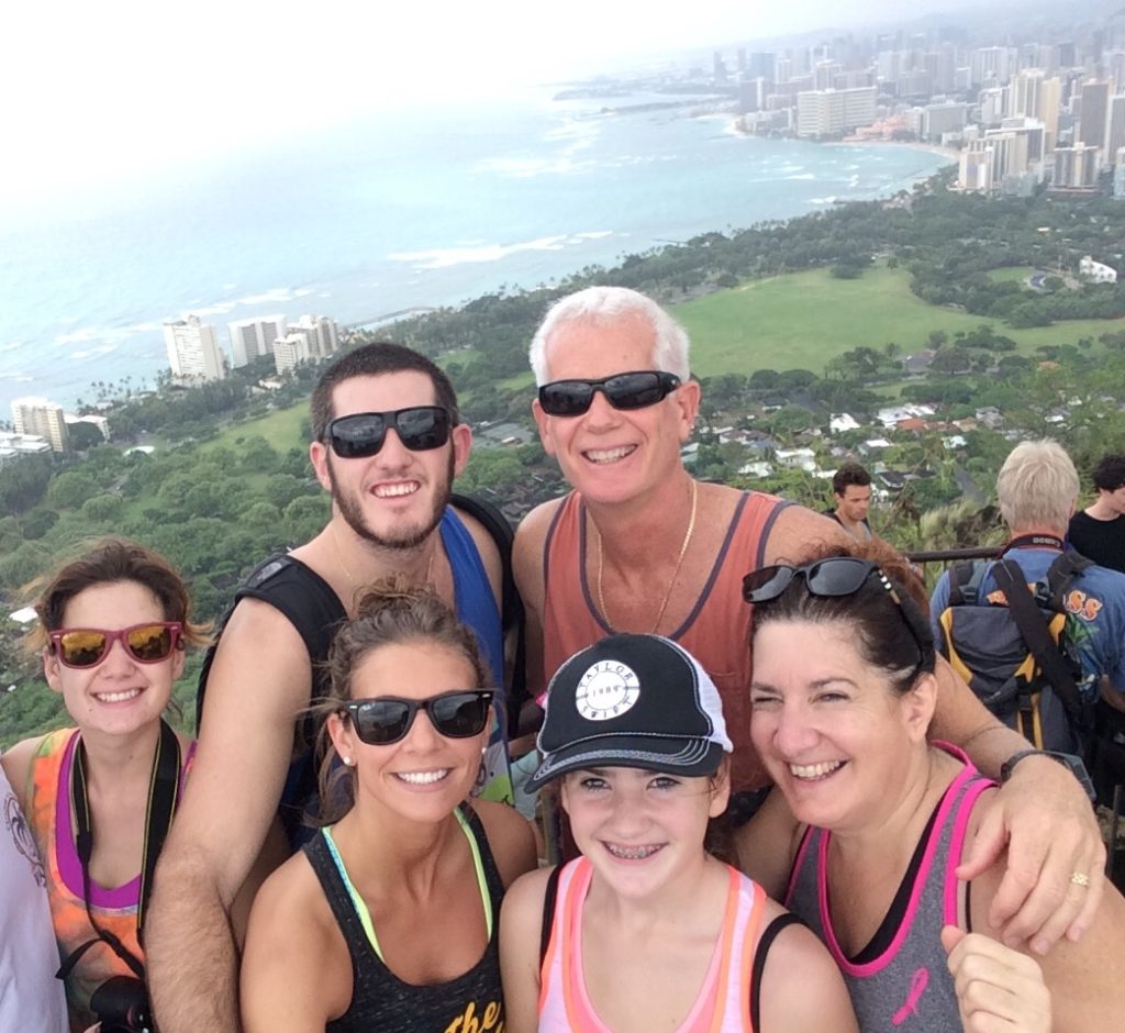 Diamond Head Hike Oahu the most popular hike on Oahu that over looks Waikiki - The Ultimate Guide of Oahu Hawaii, Best Hikes on Oahu