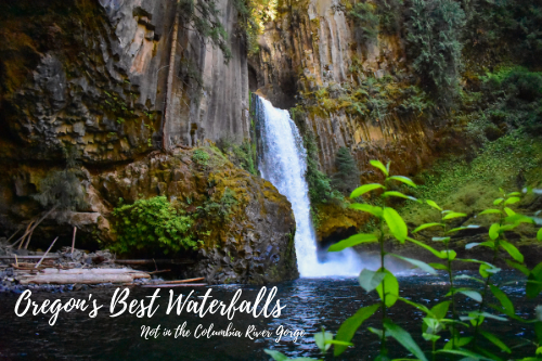 Oregon's Best Waterfalls, Not in the Columbia River Gorge