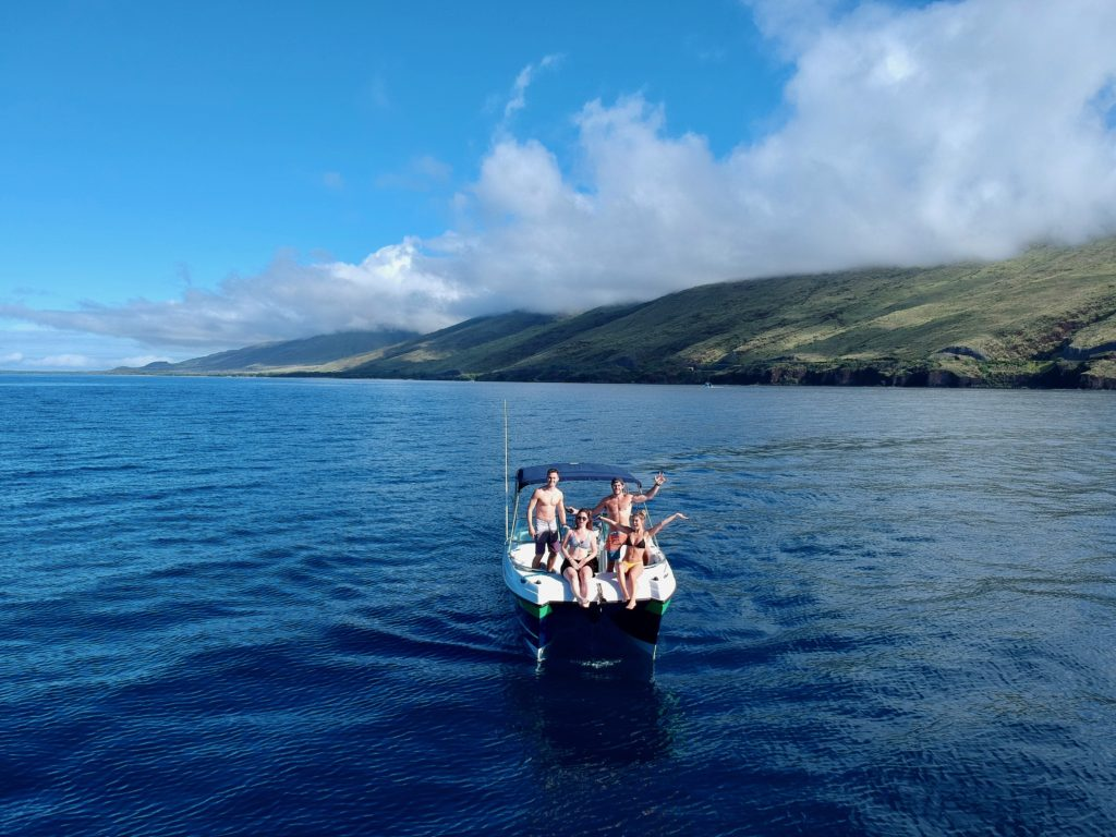 Rented this boat from Aloha Outdoors. What to do on Maui.