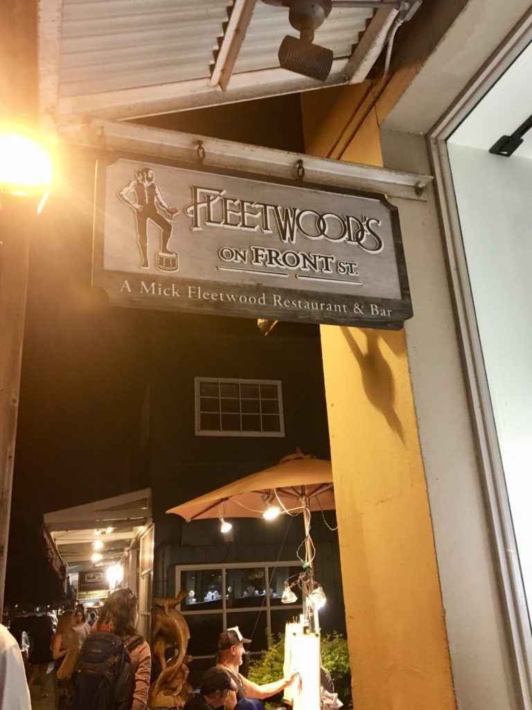 Fleetwood's on Front Street! Where to eat on Maui. What to do on Maui.
