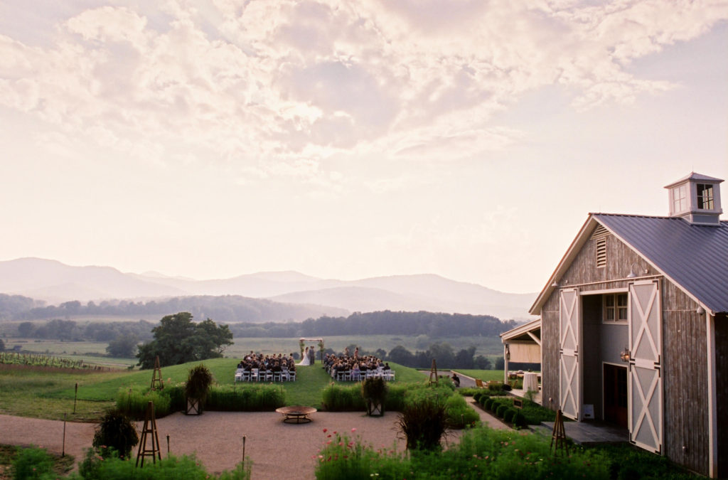 Pippin Hill Farm and Vineyards in North Garden, VA.