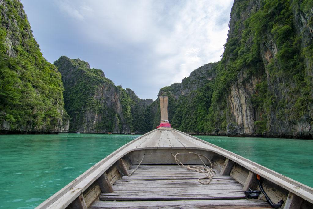 Phi Phi Islands Koh Phi Phi Leh Pileh Lagoon - Long Tail Boat
