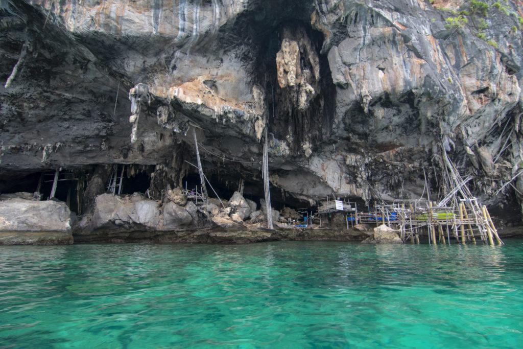 Phi Phi Islands Koh Phi Phi Lee Viking Cave - Long Tail Boat