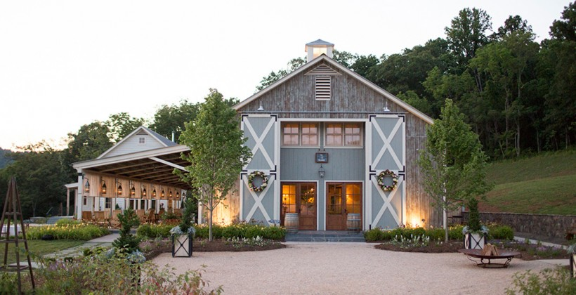 Pippin Hill Farm and Vineyards in North Garden, VA.