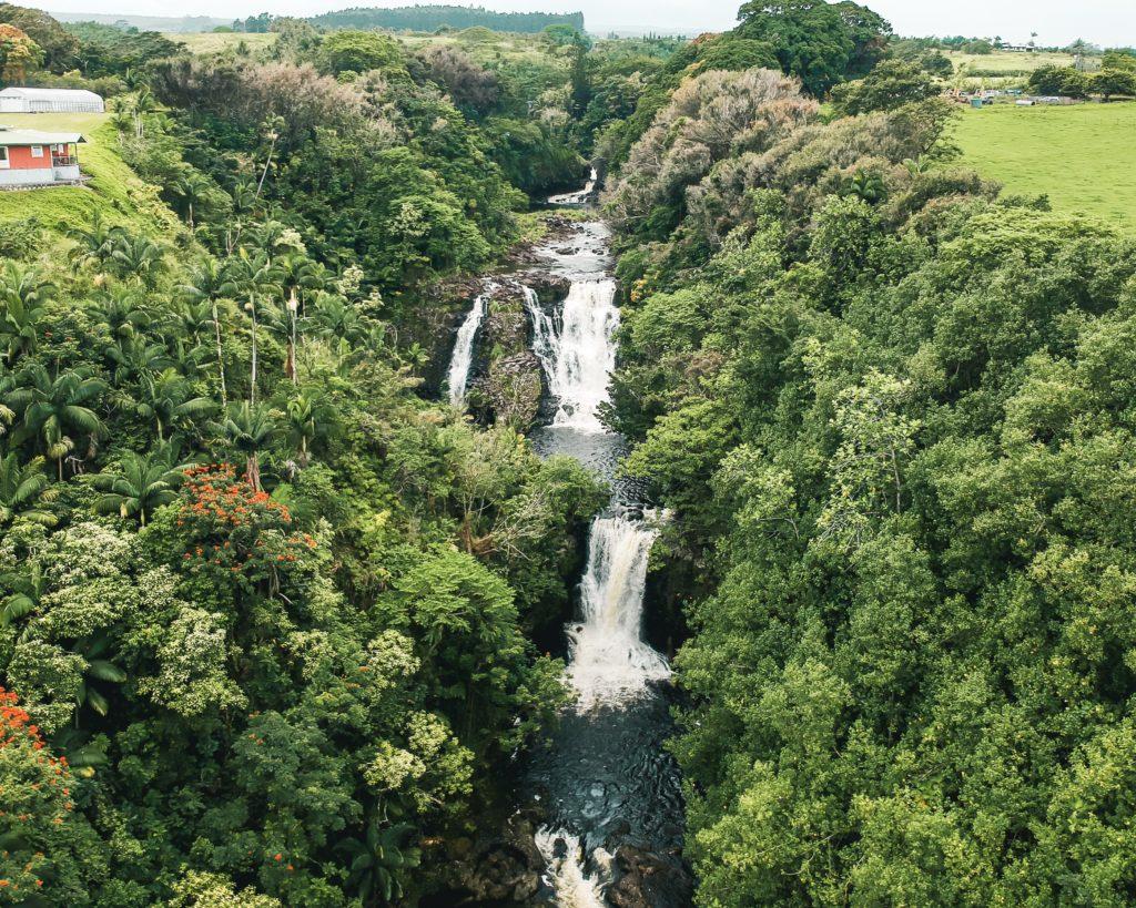 Umauma Falls, Big Island Hawaii