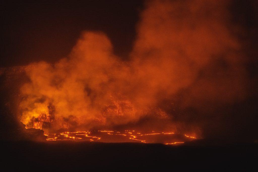 Hawaii Lava Volcanoes National Park Big Island of Hawaii