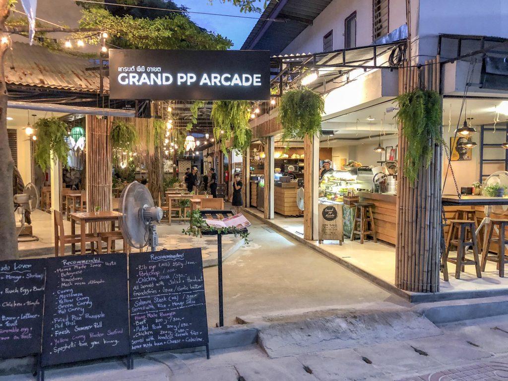 Grand PP Arcade Restaurant Phi Phi Islands Thailand-min