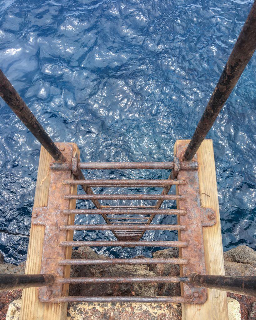 South Point ladder Big Island of Hawaii
