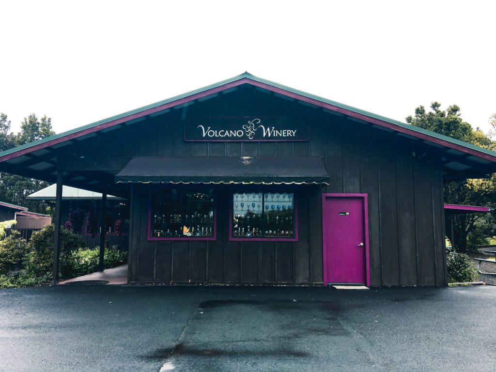 Volcano Winery Big Island of Hawaii
