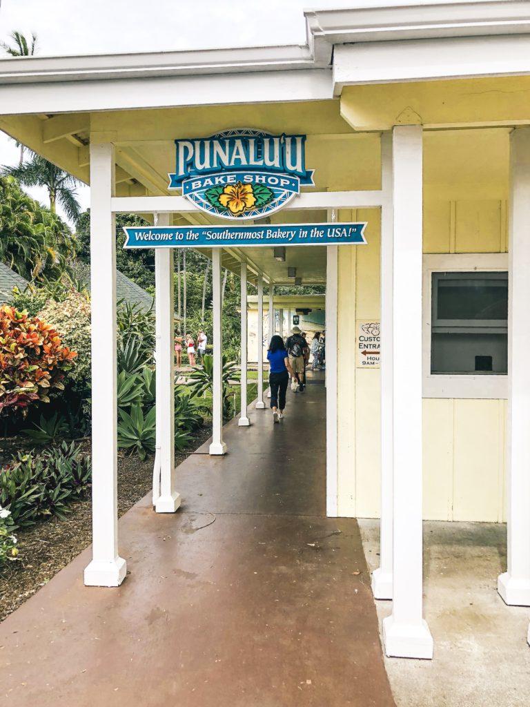 Punalu'u Bake Shop, Big Island Hawaii