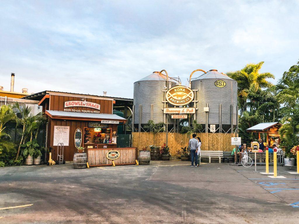 Kona Brewing Company, Big Island Hawaii