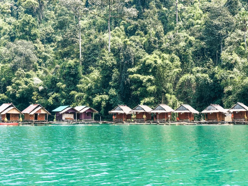 Khao Sok National Park - Floating Wood Raft Houses