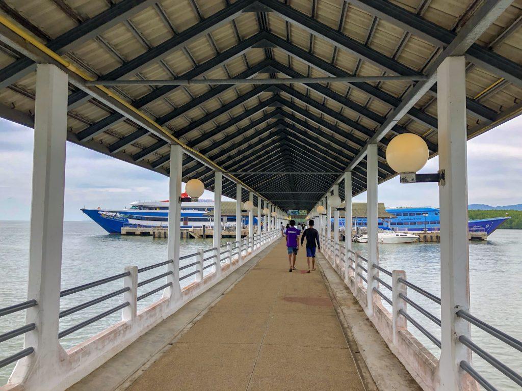 Klong Jilad Pier Krabi Thailand