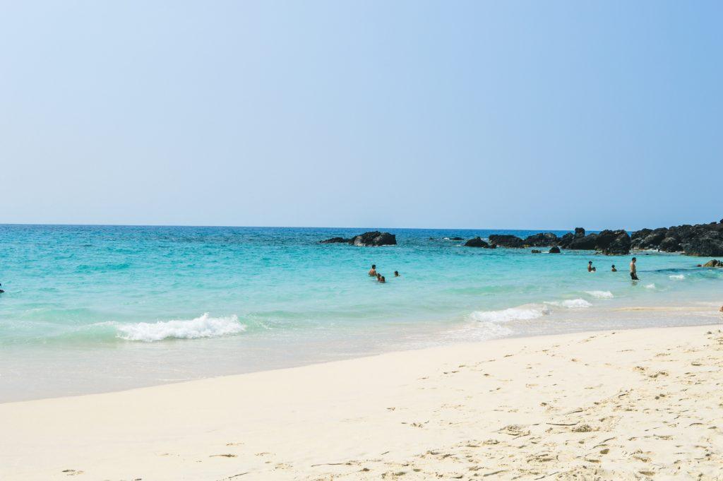 Kua Beach Big Island Hawaii