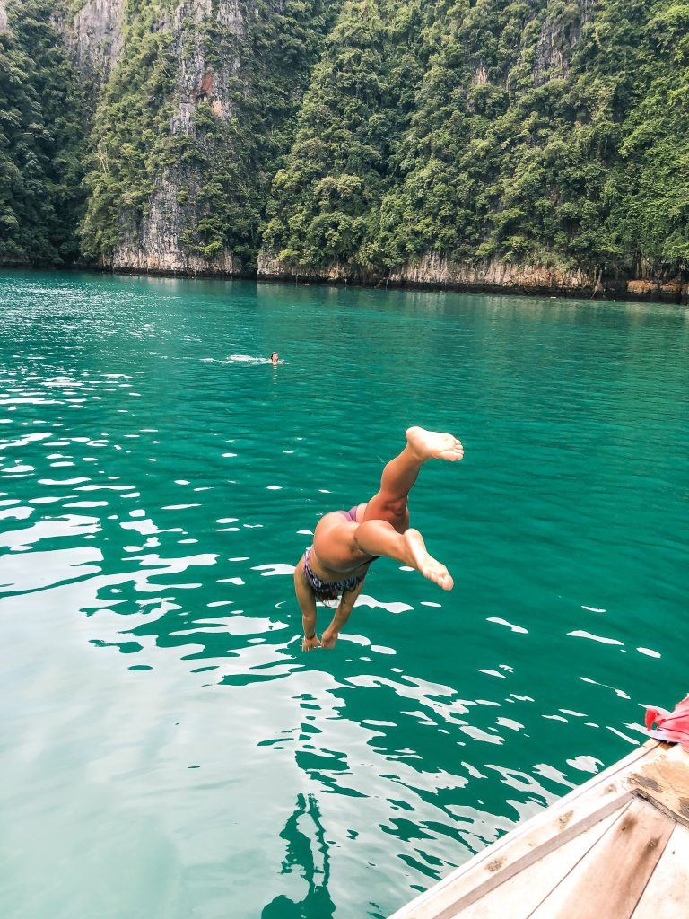 Pileh Lagoon Phi Phi Islands Thailand