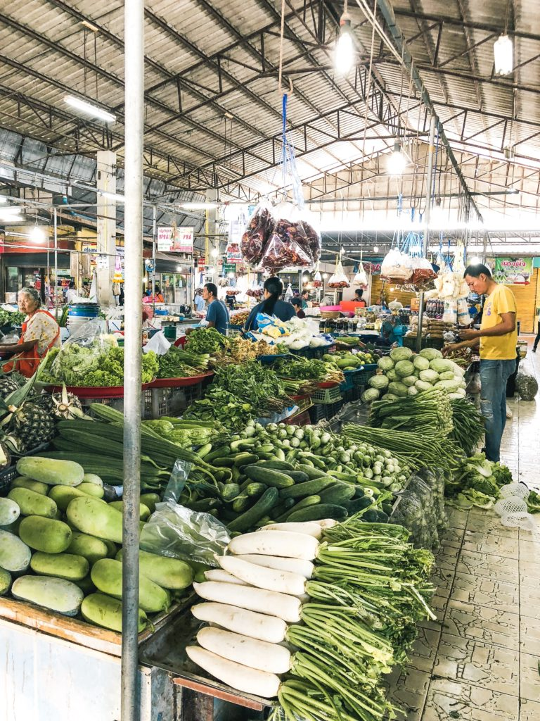 Simongkol Food Market Thailand Khao Sok National Park