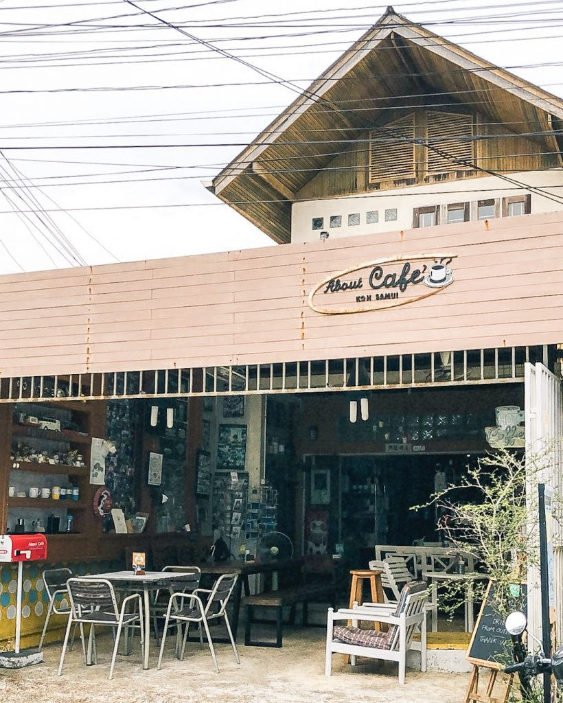 About Cafe in Koh Samui Thailand