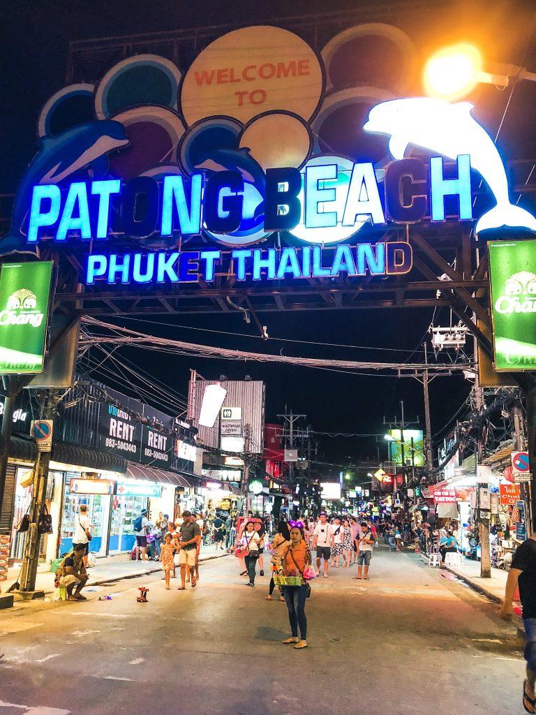 Patong Beach Phuket Thailand Bangla Street