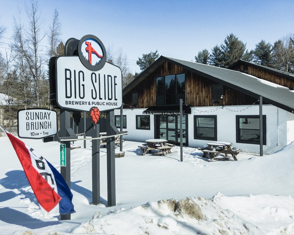 Big Slide Brewery and Public House. Where to eat in Lake Placid. A weekend getaway in Lake Placid. What to do in Lake Placid