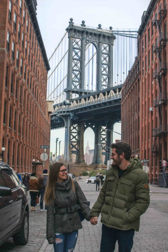 Getting the ultimate Brooklyn Bridge photo in New York City during our City Vacation! What are different type of Vacations? Check out the different types of vacations available to any traveler and find out what's best for you!