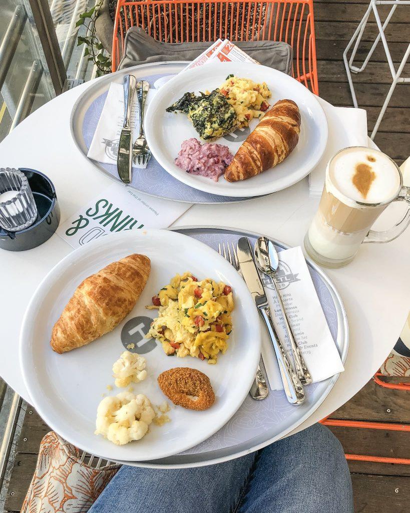 Hiltl Breakfast. How to Spend a Day in Zurich, Switzerland. Where to eat in Zurich, Switzerland.