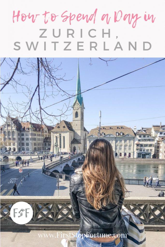 How to Spend a Day in Zurich, Switzerland. What to do in Zurich, Switzerland.