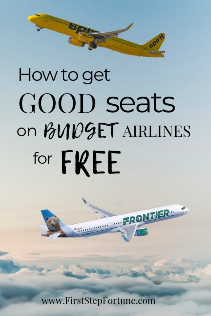 How to get good seats on budget airlines for free