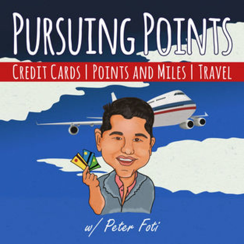 The best travel hacking and award travel podcasts on itunes - Pursuing Points hosted by Peter Foti