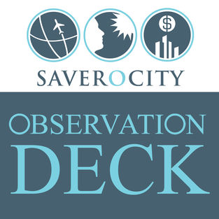The best travel hacking and award travel podcasts - Saverocity Observation Deck Podcast
