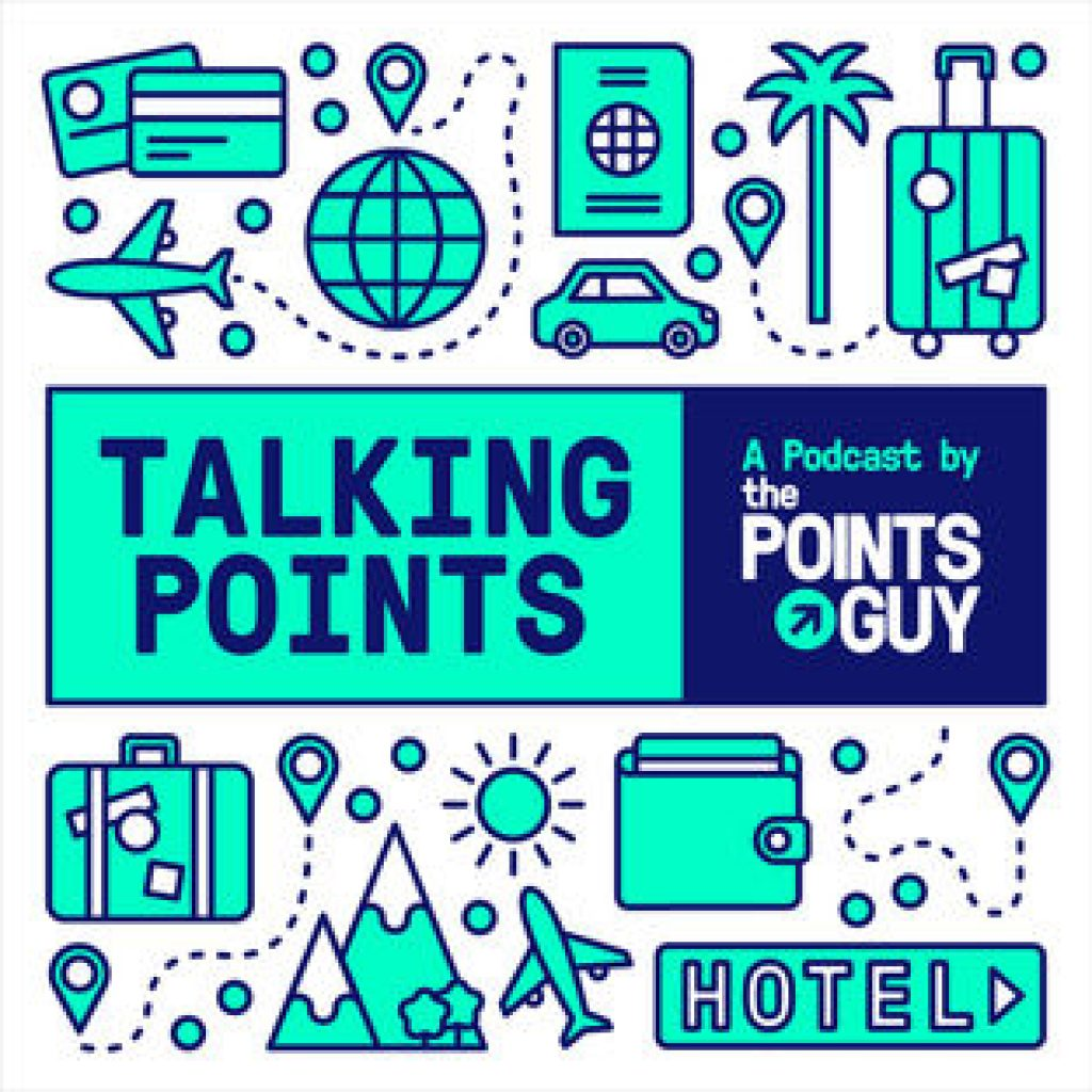 The best travel hacking and award travel podcasts on itunes - Talking Points hosted by Brian Kelly at the points guy