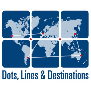 The best travel hacking podcasts and award travel podcasts - Dots, Lines and Destinations Podcast