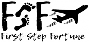 First Step Fortune Logo with text below