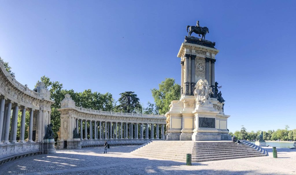 Monument Alfonzo one day in madrid spain instagram location
