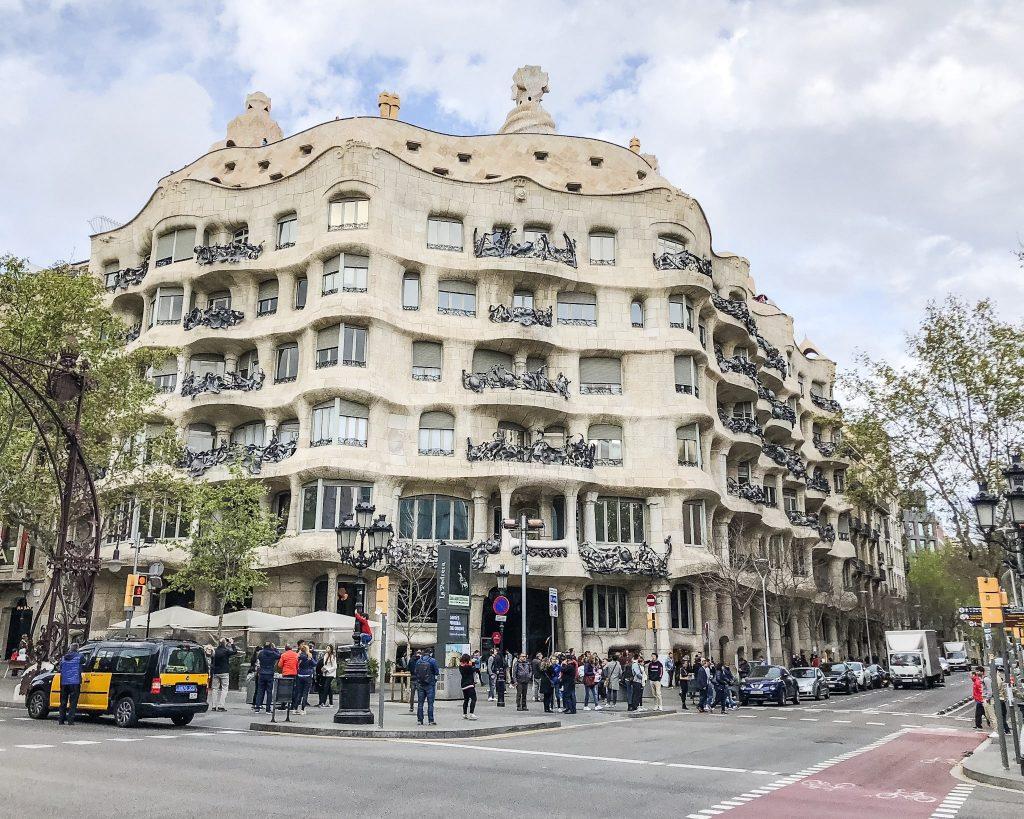 Casa Mila. 24 Hours in Barcelona, Spain. What to do in Barcelona. Where to go in Barcelona. Gothic Quarter Restaurants Barcelona.
