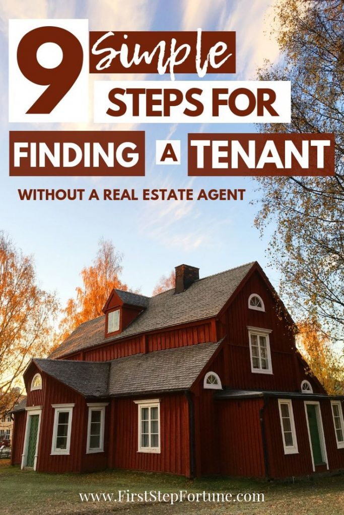 How to find a new tenant for your rental without a real estate agent - 9 simple steps