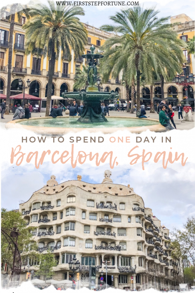 How to spend 24-Hours in Barcelona, Spain. What to do in Barcelona. Where to eat in Barcelona. Barcelona Spain in one day.