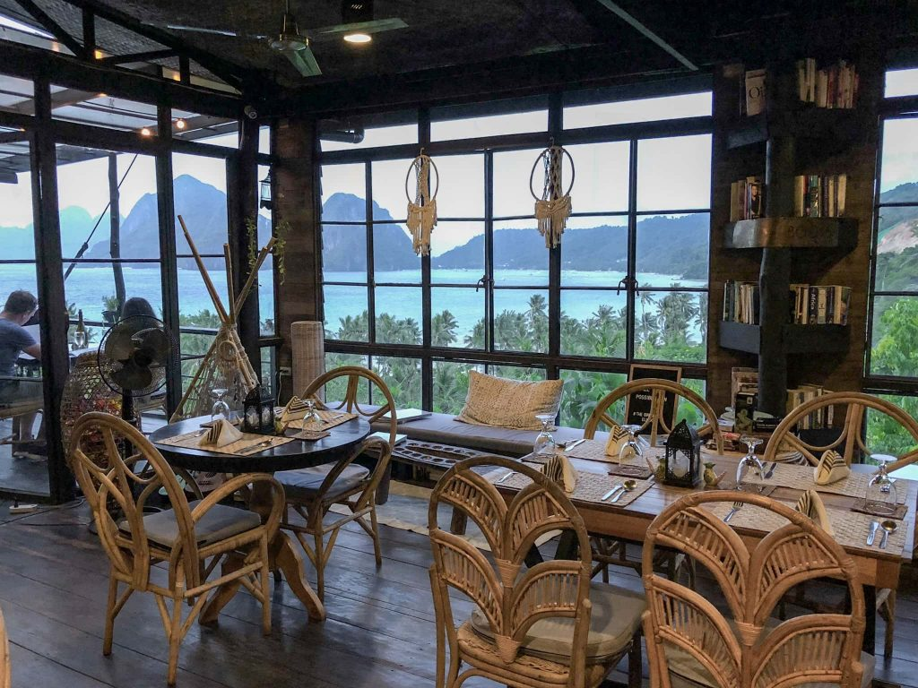 Birdhouse Restaurant El Nido Palawan Philippines top things to do