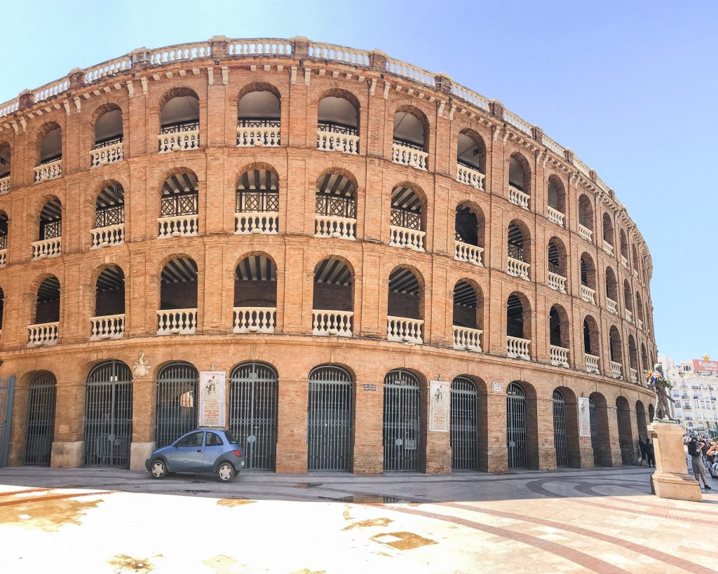 Top 10 Things To Do in Valencia, Spain. Plaza de Toros. What to do in Valencia, Spain. What to see in Valencia, Spain. Spain bullfights. Neoclassical Architecture. Arenas of Valencia.