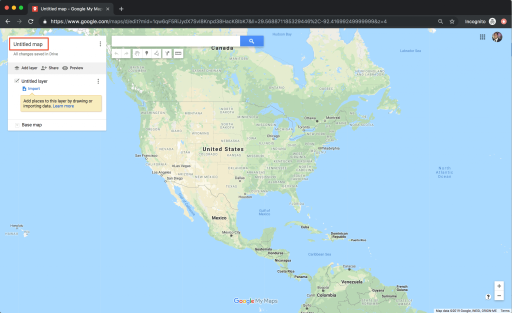 Edit the name of the custom google map - how to use google maps for a vacation