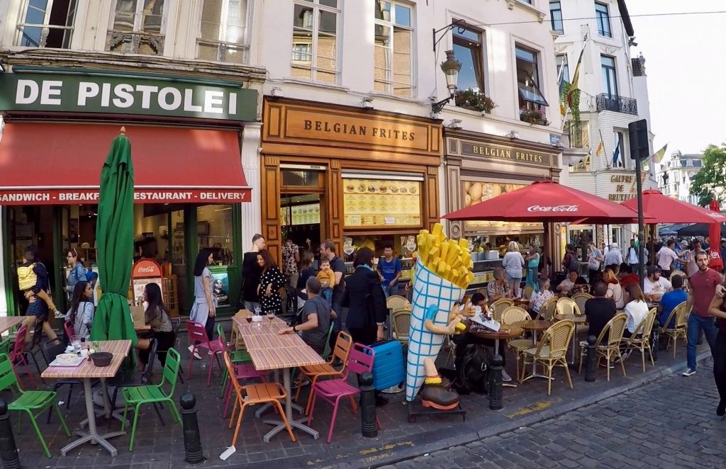 Fast food restaurants in Brussels - must try where to eat in Brussels (1)