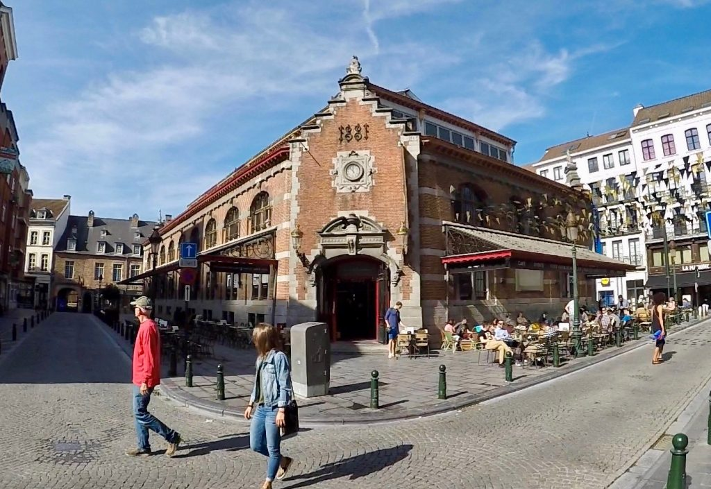 Halles Saint-Gray - what to see in Brussels learn a little history (1)