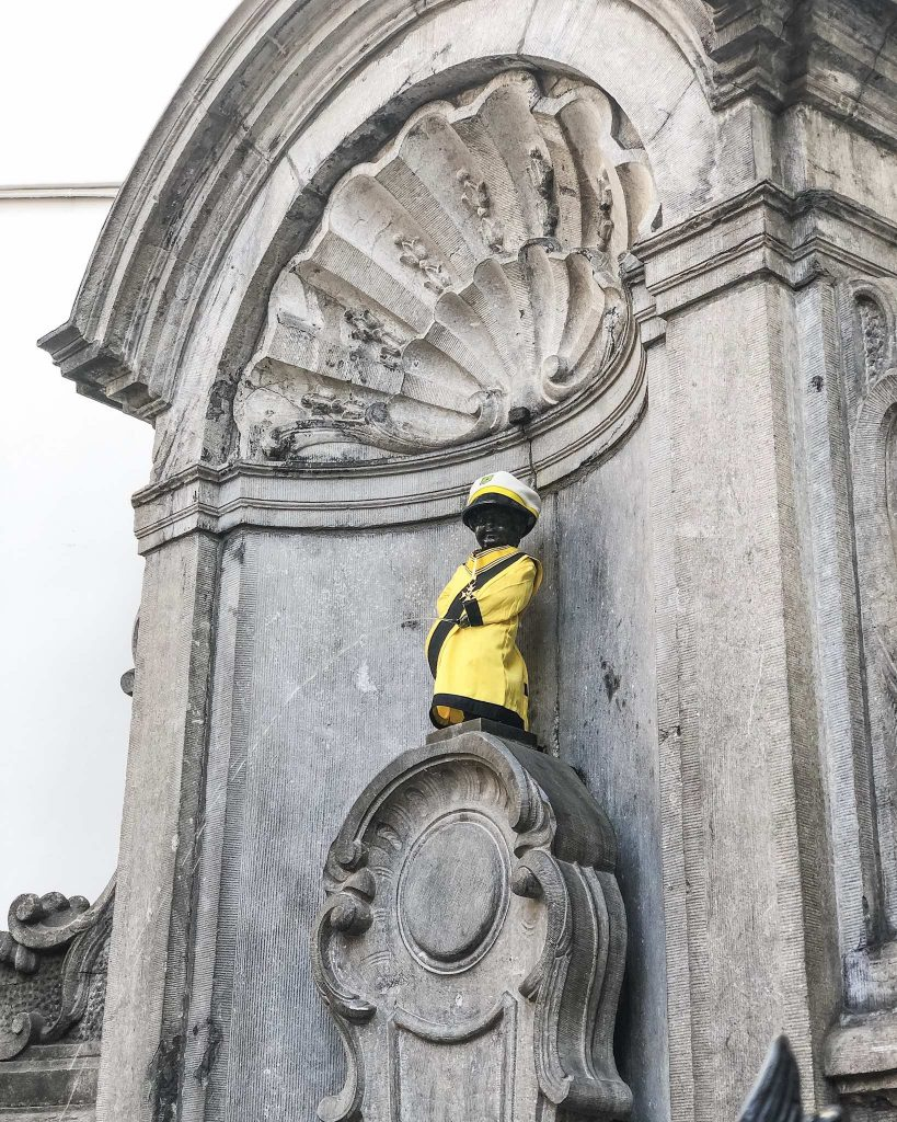 Mannekin Pis statue in brussels - What to do, where to eat and where to stay in Brussels Belgium