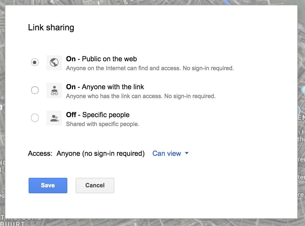 define access to your google maps - how to plan a trip using google maps