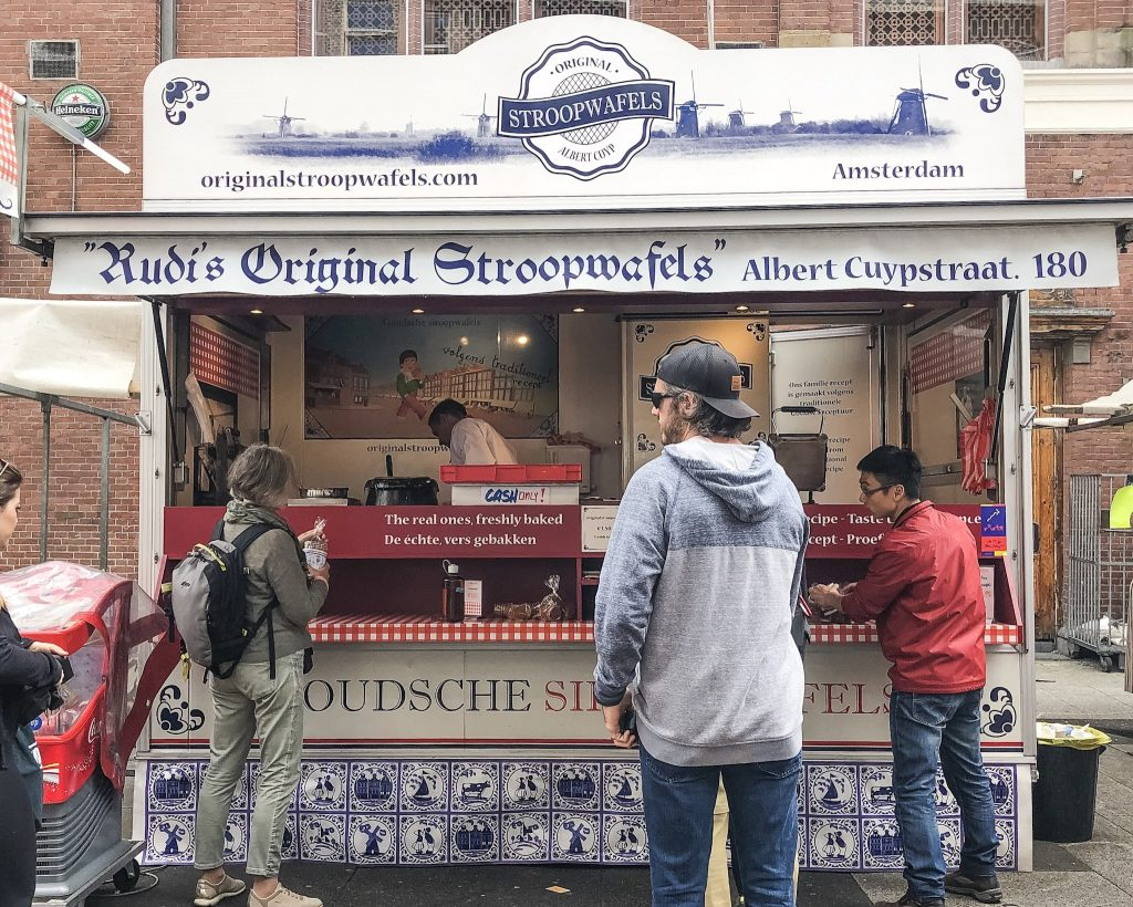 11 Best Things To See And Do in Amsterdam. Stroopwaffle. What to eat in Amsterdam. Where to eat in Amsterdam. Amsterdam's Stroopwaffle. Albert Cuyp. The Original Stroopwaffle.