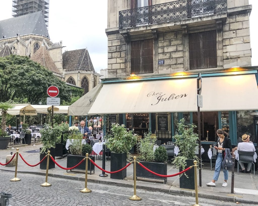 How to Make the Best of 48-Hours in Paris, France. Where to eat in Paris, France. Chez Julien. Popular restaurants in Paris, France