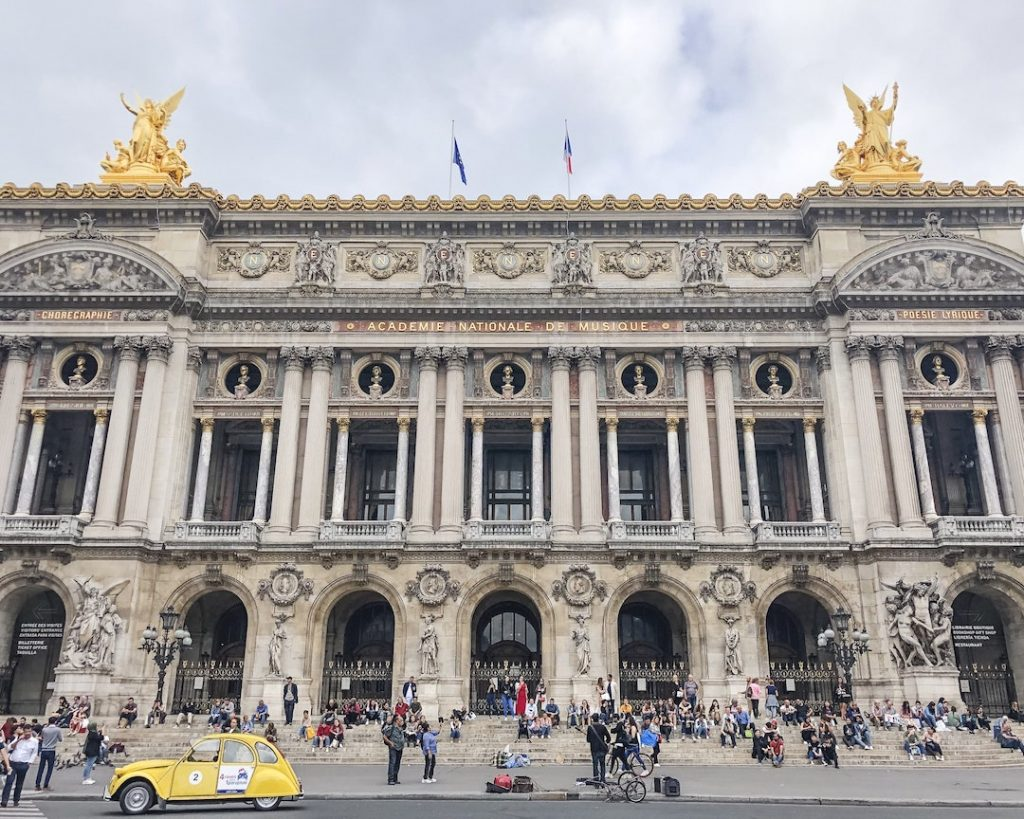 How to Make the Best of 48-Hours in Paris, France. What to see in Paris, France. Things to see in Paris. Famous landmarks in Paris. Visit Opéra Garnier.