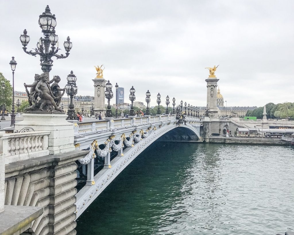 How to Make the Best of 48-Hours in Paris, France. Pont Alexandre III. Walk along the Seine River. Best Eiffel Tower photo spots.
